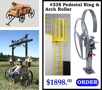 338 Pedestal Ring Roller