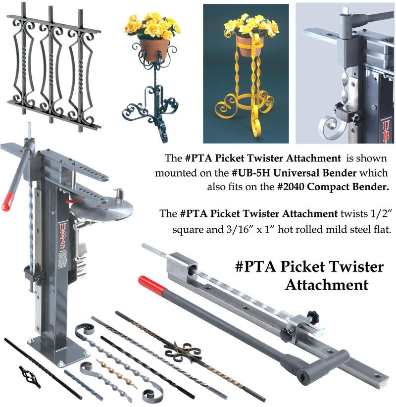 PTA Picket Twister Attachment