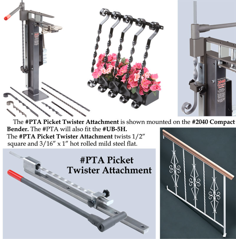 PTA Picket Twister Attachment