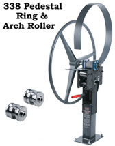 338 Pedestal Ring and Arch Roller