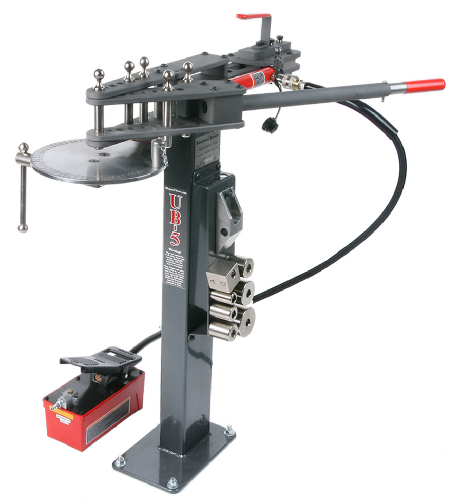 Shop Tools: Metal Bending Tools - UB-5H Bender And Accessories