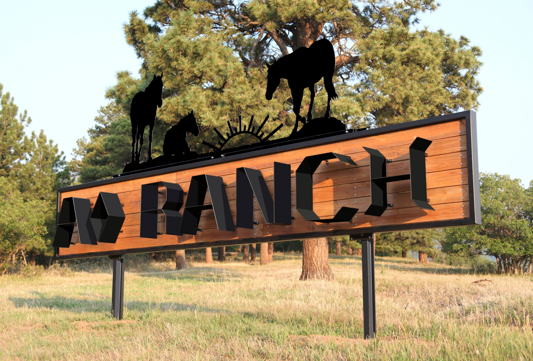 A-Diamond-Ranch-Sign-bent-on-Handy-Bend