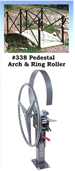 338 Wide Track Pedestal Arch and Ring Roller